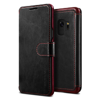 Чехол-кошелёк VRS Design Layered Dandy для Galaxy S9 Black