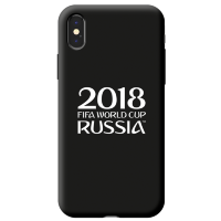 Чехол Deppa FIFA для iPhone X Official Logotype