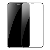Стекло Baseus 0.23mm curved-screen tempered glass screen protector with crack-resistant edges для iPhone XR Чёрное
