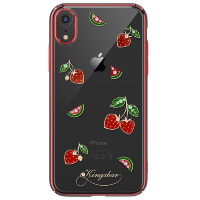 Чехол Kingxbar Tropical Series для iPhone XR Strawberry
