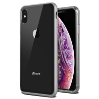 Чехол VRS Design Crystal Bumper для iPhone Xs Max Steel Silver