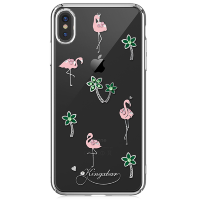 Чехол Kingxbar Tropical Series для iPhone Xs Max Flamingo