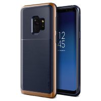 Чехол VRS Design High Pro Shield для Galaxy S9 Indigo Blush Gold