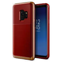 Чехол VRS Design High Pro Shield для Galaxy S9 Red Blush Gold